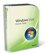 Windows Vista Home Basic 32-bit English 1pk Dsp OEM CD ( )